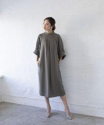 smeralda/ボリュームラグランスリーブドレス/503050016
