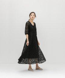 smeralda/フロントボタンレースドレス/503050017