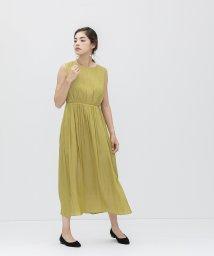 smeralda/フリンジベルトウエストギャザードレス/503050021