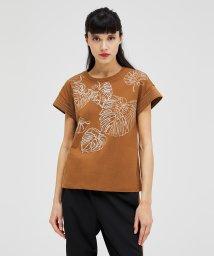 SISLEY/コード刺繍フレンチスリーブTシャツ・カットソー/503067831
