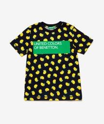 BENETTON (UNITED COLORS OF BENETTON BOYS)/総柄ボックスロゴTシャツ・カットソー/503067866