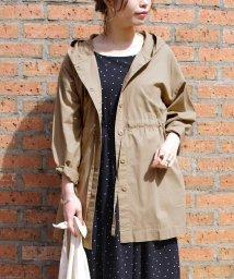 Fizz/【2020新作】ドロストデザインフード付きジャケット mitis SS スプリングコート/503077623
