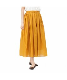 MAC HOUSE(women)/NAVY ネイビー インド綿 無地スカート MC20SS-BT07-N2/503080319