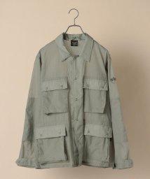 SHIPS MEN/ALPHA: ライト パッカブル ARMY ジャケット/503081033
