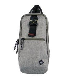 BCLOVER/ウォルトダブルカラムUSBポート付きタクティカルバックルスリムボディバッグ/503081145