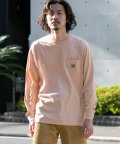URBAN RESEARCH Sonny Label/carhartt LONG-SLEEVE POCKET T-SHIRTS/503081335