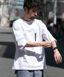 URBAN RESEARCH Sonny Label/FEELCOOLファスナーポケットTシャツ/503081336