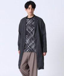 tk.TAKEO KIKUCHI/【COMFORT LINEN】リネンチェスターコート/503081437