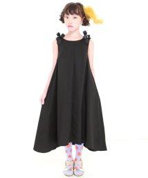 UNICA/【2020春夏】フレアノースリりぼんワンピース 110~140/503023672