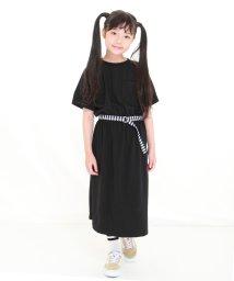 UNICA/【2020春夏】ベルト付きマキシワンピース 110~140/503023684
