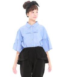 UNICA/【2020春夏】ストライプリボンシャツ XS~M/503023707