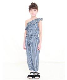 UNICA/【2020春夏】ワンショルダーフリルサロペット 110~140/503023722