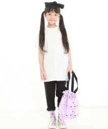 UNICA/【2020春夏】ロング丈チュールTシャツ 110~140/503023742