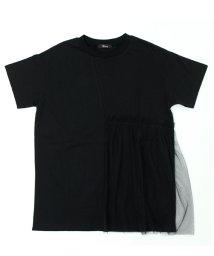 UNICA/【2020春夏】ロング丈チュールTシャツ XS~M/503023743