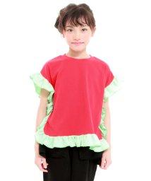 UNICA/【2020春夏】スクエアフリルTシャツ 110~140/503023754