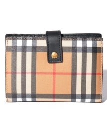 BURBERRY/【Burberry】Vintage Check Leather Folding Wallet/503038835