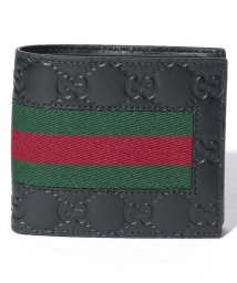 GUCCI/【メンズ】【GUCCI】Gucci Signature Web wallet/503038847