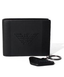 EMPORIO ARMANI/【メンズ】【EMPORIO ARMANI】Gift Box Wallet & Key Ring/503051923