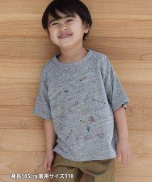 coen/【coen キッズ / ジュニア】CALIFORNIAプリントTシャツ/503064304