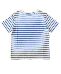 charmy/綿麻ボートネックボーダーTシャツ/503067749