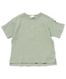quoti use fith/ランダムテレコヘンリーネック 半袖 Tシャツ/503081403