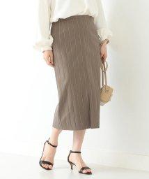 Demi-Luxe BEAMS/Demi-Luxe BEAMS / ストライプ コットン タイトスカート/503081812