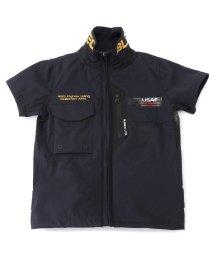 AVIREX/【キッズ】ナイトホーク スタンドジップシャツ/NIGHT HAWK STAND ZIP SHIRT/503081902