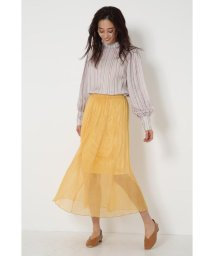 SHEL'TTER SELECT/カラーチュールプリーツスカート(Color Tulle Pleats Skirt)/503082097