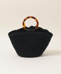 SHIPS any WOMENS/【一部カラー別注】COTTO:リングハンドルカゴバッグ/503082624