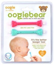 oogiebear/oogiebear ウーギーベア 赤ちゃんの鼻水・鼻くそ取り ウーギーベア お鼻掃除スコップ 2本入(ラズベリー/シーフォーム)/503083431