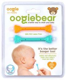 oogiebear/oogiebear ウーギーベア 赤ちゃんの鼻水・鼻くそ取り ウーギーベア お鼻掃除スコップ 2本入(オレンジ/シーフォーム)/503083433