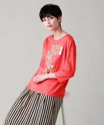 EVEX by KRIZIA/【ウォッシャブル】フォイルロゴプリントTシャツ/503083516