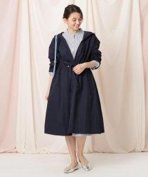 Couture Brooch/ウエストドロストナイロンコート/503083717