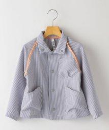 SHIPS KIDS/MOUN TEN.:<速乾性>シアサッカー ライン ジャケット(95~140cm)/503083737