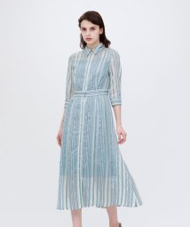 LOVELESS WOMEN/【otona MUSE掲載商品】シアーストライプ ドレス/503010619