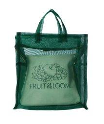 MAISON mou/【FRUIT OF THE LOOM/フルーツオブザルーム】 SEE THROUGH BST BAG S/シースルーバッグSサイズ/503051072