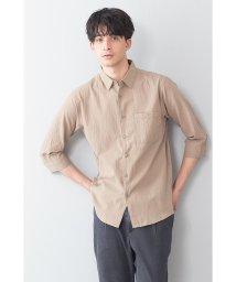 JNSJNM/【BLUESTANDARD】キョウネンコットン7ブソデシャツ/503071521