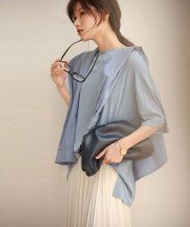 SAISON DE PAPILLON/裾スリット入りゆったりTシャツ/503079960