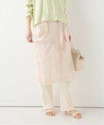 SLOBE IENA/【FUMIE TANAKA/フミエ タナカ】 through apronスカート/503087868