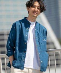 coen/MEI(メイ)別注ストレッチオックススナップボタンバンドカラーシャツ(その他⇒WEB限定カラー)/503088276