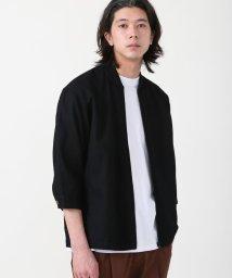 coen/ワッフル7分袖ブルゾン/503088280