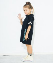 branshes/【★CONVERSE】フード付き半袖ワンピース(90~150cm)/503088841