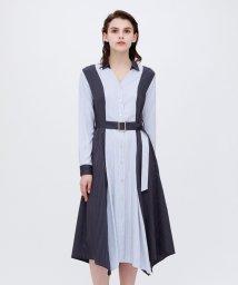 LOVELESS WOMEN/【otona MUSE掲載商品】スプリット ストライプ シャツドレス/502890551