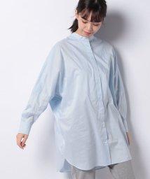 Leilian/【my perfect wardrobe】オーバーサイズコットンシャツ/503047837