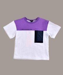 BeBe/メッシュポケットTシャツ/503066746