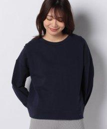 MELROSE Claire/ドライタッチオリジナルミニ裏毛ボリューム袖プルオーバー/503075054