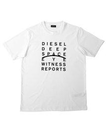 DIESEL/DIESEL T-JUST-J5 ディーゼル メッセージプリント Tシャツ 00S4EL-0091A/503077239