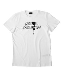 DIESEL/DIESEL T-DIEGO-J25 ディーゼル ロゴプリント Tシャツ 00SDNX-0091A/503077241