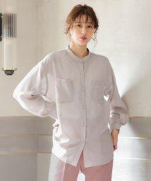 INGNI/シアーバンドカラーシャツ                 /503079978
