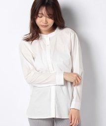 MELROSE Claire/スタンドカラーシャツ/503080136